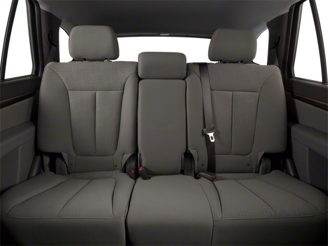 2011 Hyundai Santa Fe Prices and Values Utility 4D GLS 2WD backseat interior