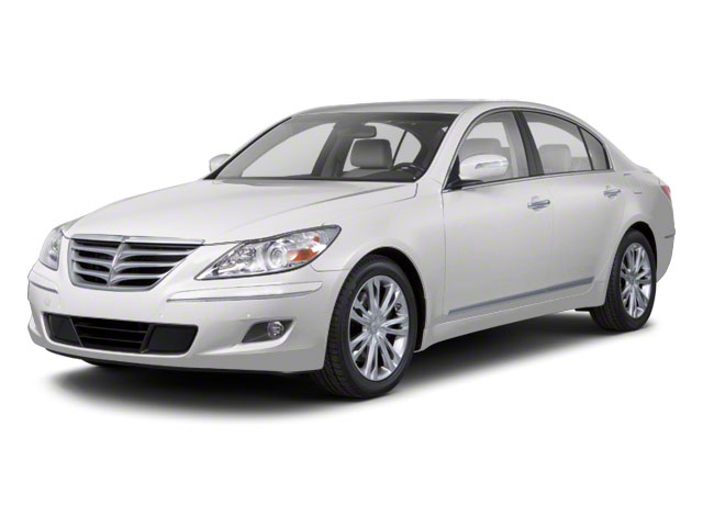 2011 Hyundai Genesis Prices and Values Sedan 4D side front view