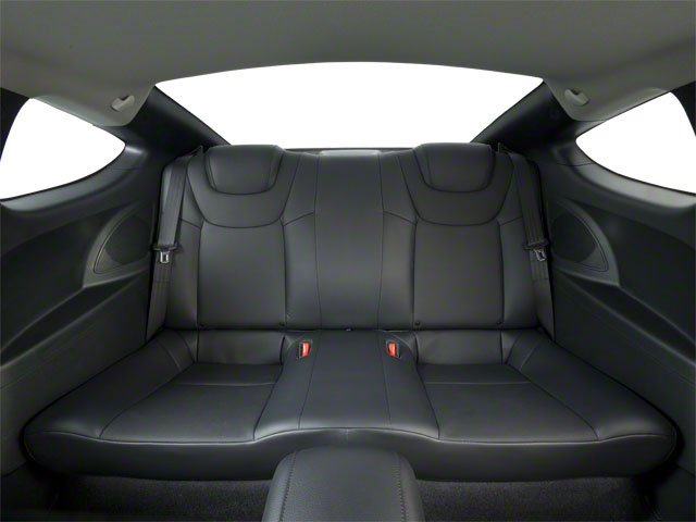 2011 Hyundai Genesis Coupe Prices and Values Coupe 2D R-Spec backseat interior