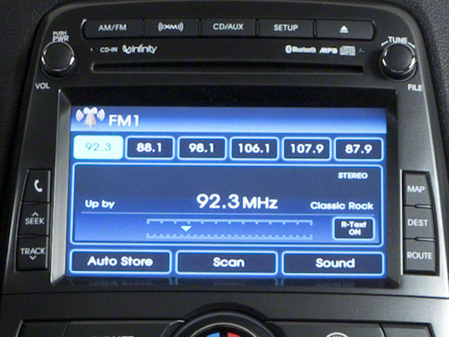 2011 Hyundai Genesis Coupe Prices and Values Coupe 2D R-Spec navigation system