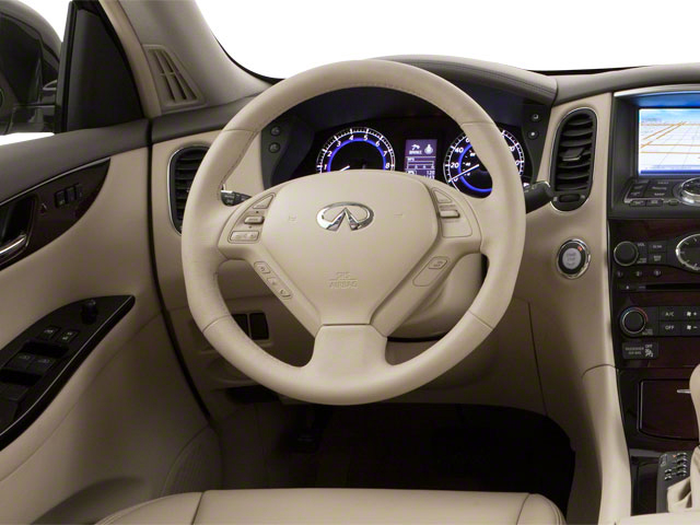 2011 INFINITI EX35 Prices and Values Wagon 4D Journey AWD driver's dashboard