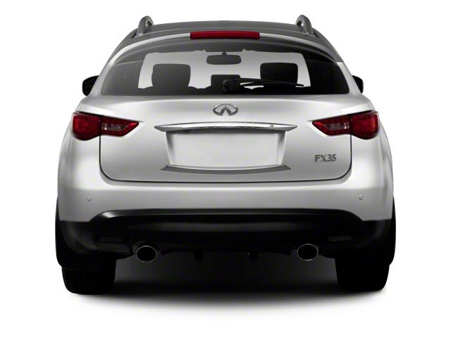 2011 INFINITI FX50 Prices and Values FX50 AWD rear view