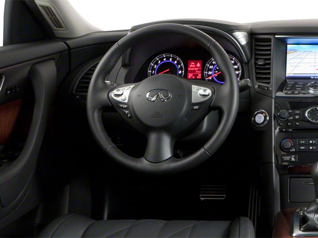 2011 INFINITI FX50 Prices and Values FX50 AWD driver's dashboard