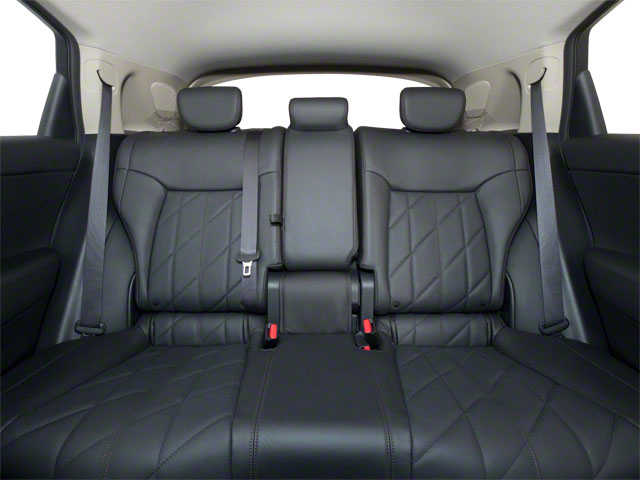 2011 INFINITI FX50 Prices and Values FX50 AWD backseat interior
