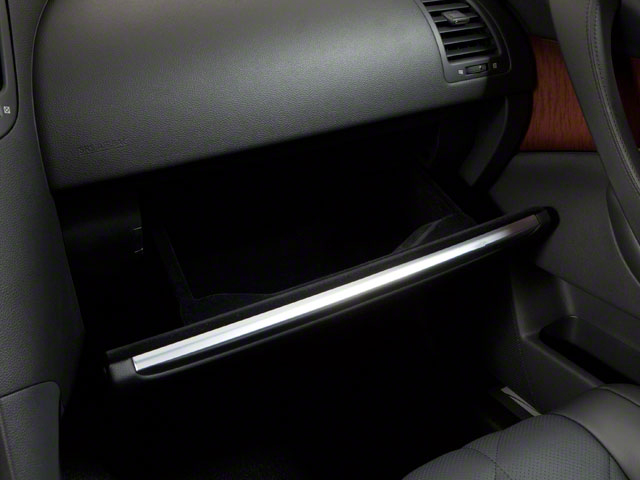 2011 INFINITI FX50 Prices and Values FX50 AWD glove box