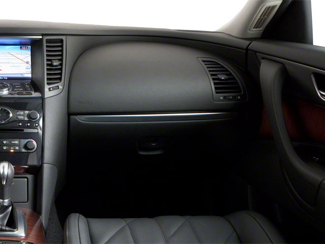 2011 INFINITI FX50 Prices and Values FX50 AWD passenger's dashboard