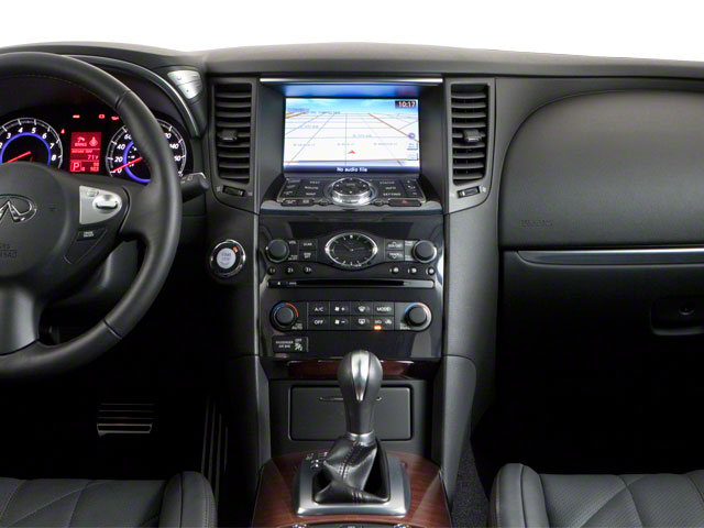 2011 INFINITI FX50 Prices and Values FX50 AWD center dashboard