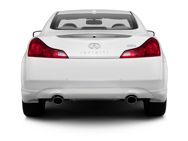 2011 INFINITI G37 Coupe Prices and Values Coupe 2D IPL rear view