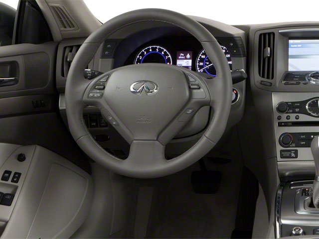 2011 INFINITI G37 Coupe Prices and Values Coupe 2D IPL driver's dashboard
