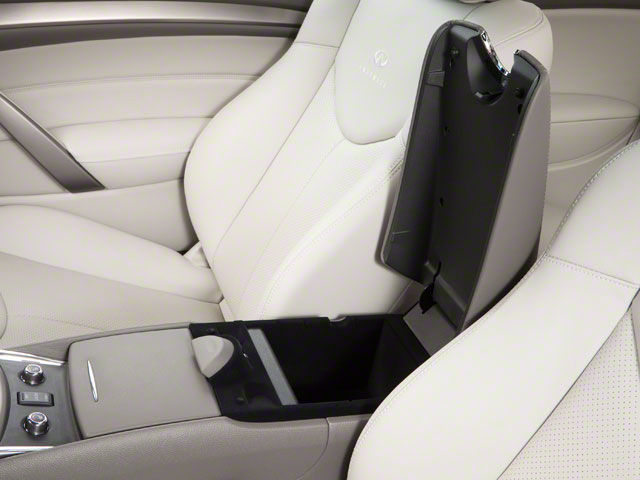 2011 INFINITI G37 Coupe Prices and Values Coupe 2D IPL center storage console