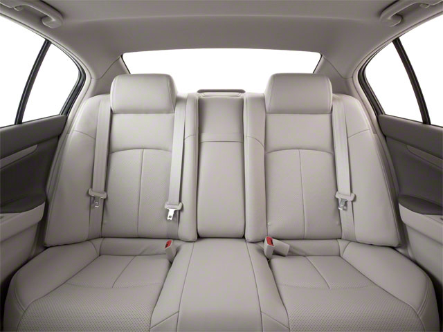 2011 INFINITI G37 Sedan Pictures G37 Sedan 4D photos backseat interior