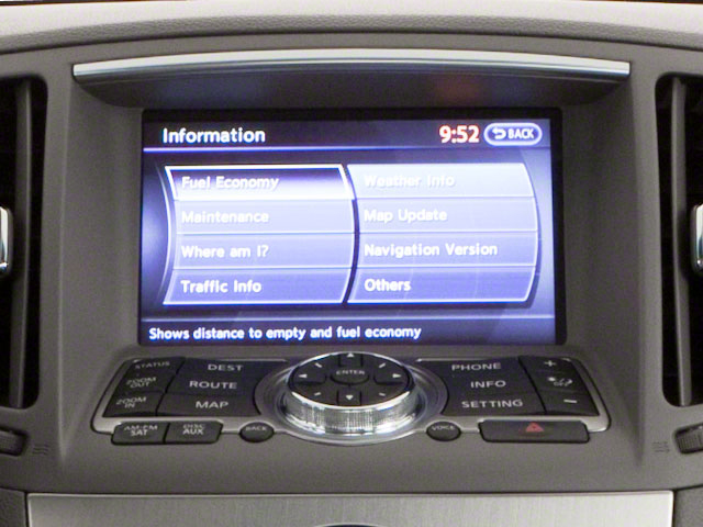 2011 INFINITI G37 Sedan Pictures G37 Sedan 4D photos navigation system