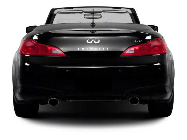 2011 INFINITI G37 Convertible Pictures G37 Convertible Convertible 2D 6 Spd photos rear view