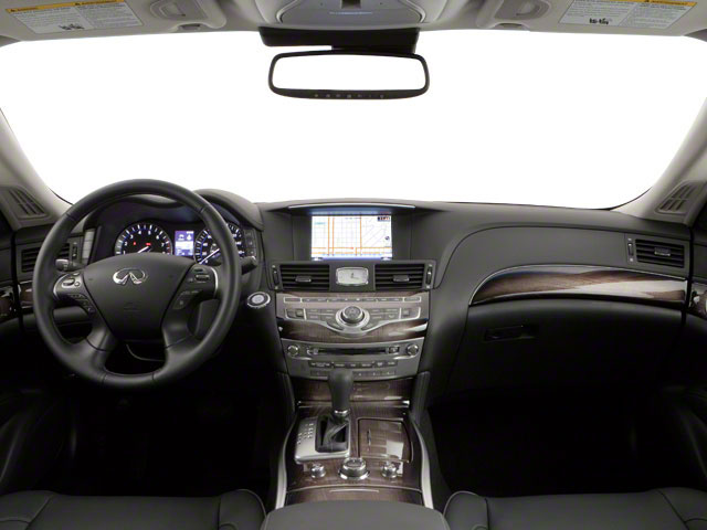 2011 INFINITI M56 Pictures M56 Sedan 4D photos full dashboard