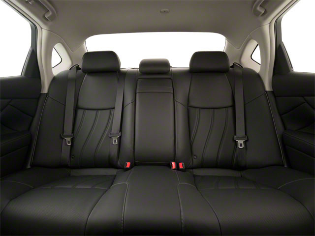 2011 INFINITI M56 Pictures M56 Sedan 4D photos backseat interior