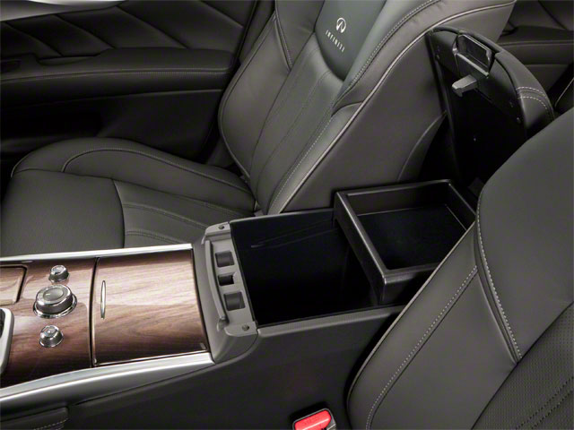 2011 INFINITI M56 Pictures M56 Sedan 4D photos center storage console