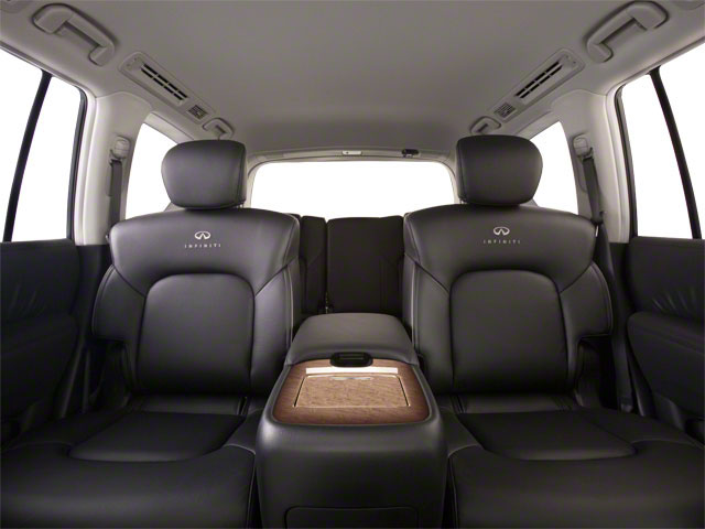 2011 INFINITI QX56 Pictures QX56 Utility 4D 2WD photos backseat interior