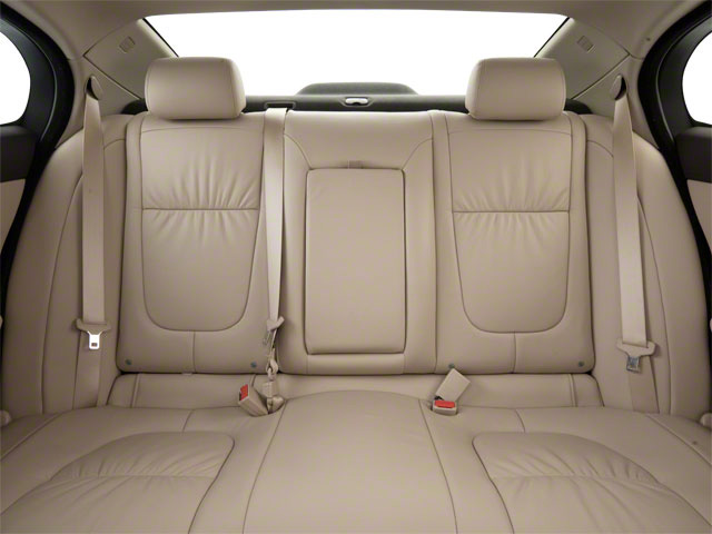 2011 Jaguar XF Prices and Values Sedan 4D Premium backseat interior