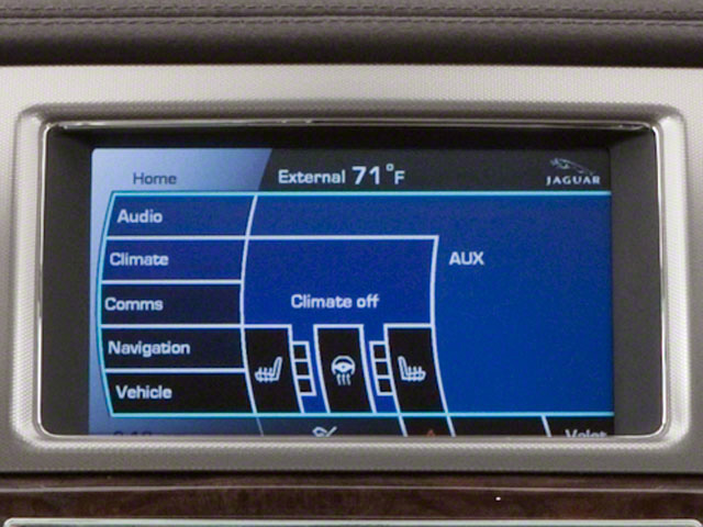2011 Jaguar XF Prices and Values Sedan 4D Premium navigation system