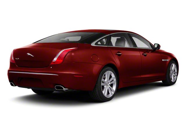 2011 Jaguar XJ Prices and Values Sedan 4D side rear view