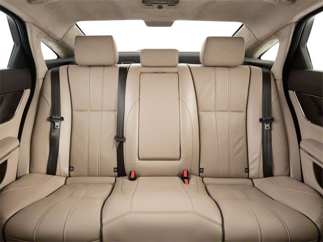 2011 Jaguar XJ Prices and Values Sedan 4D Supersport backseat interior