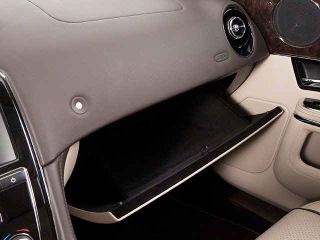 2011 Jaguar XJ Prices and Values Sedan 4D glove box