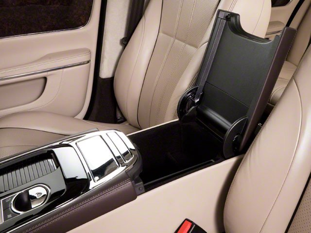 2011 Jaguar XJ Prices and Values Sedan 4D center storage console