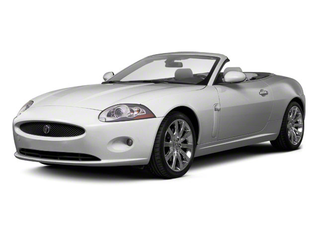 2011 Jaguar XK Prices and Values Convertible 2D side front view