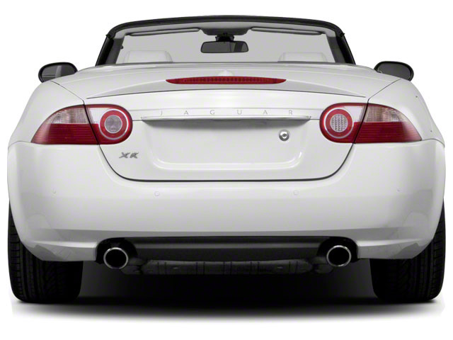 2011 Jaguar XK Prices and Values Convertible 2D rear view