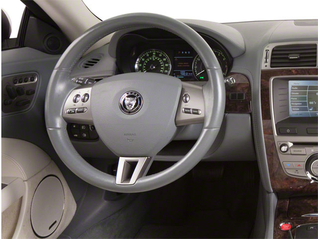 2011 Jaguar XK Prices and Values Convertible 2D driver's dashboard