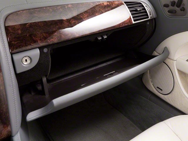 2011 Jaguar XK Prices and Values Convertible 2D glove box