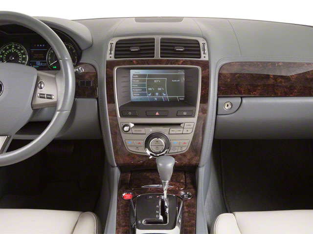 2011 Jaguar XK Prices and Values Convertible 2D center dashboard