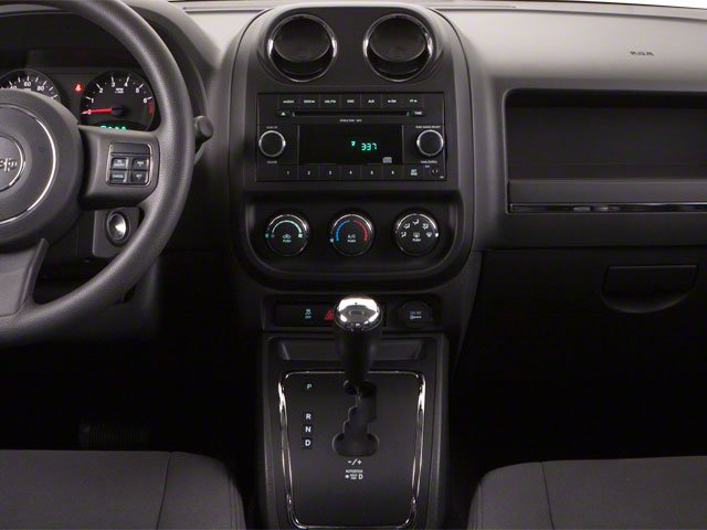 2011 Jeep Compass Prices and Values Utility 4D Latitude 2WD center console