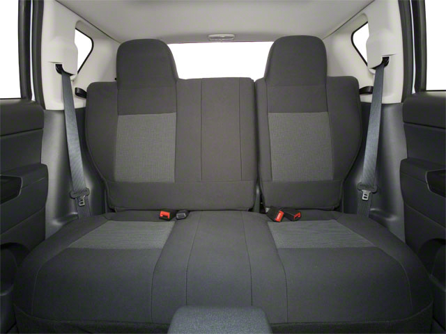 2011 Jeep Compass Prices and Values Utility 4D Latitude 2WD backseat interior