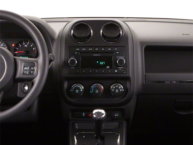 2011 Jeep Compass Prices and Values Utility 4D Latitude 2WD center dashboard