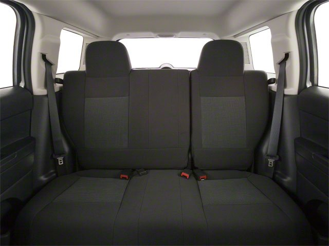 2011 Jeep Patriot Prices and Values Utility 4D Latitude X 2WD backseat interior