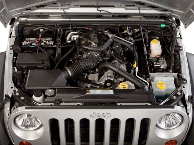 2011 Jeep Wrangler Unlimited Pictures Wrangler Unlimited Utility 4D Unlimited Sahara 4WD photos engine
