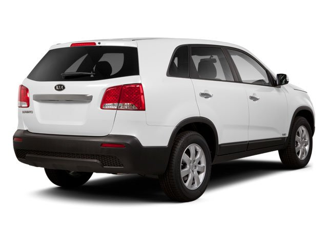 2011 Kia Sorento Prices and Values Utility 4D EX AWD side rear view