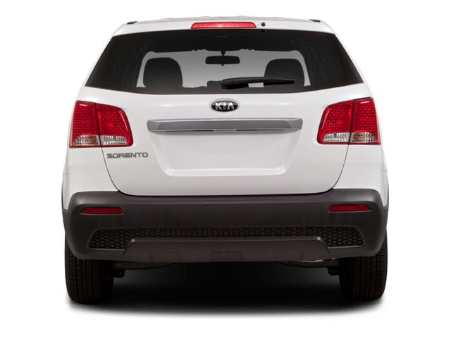 2011 Kia Sorento Prices and Values Utility 4D EX AWD rear view