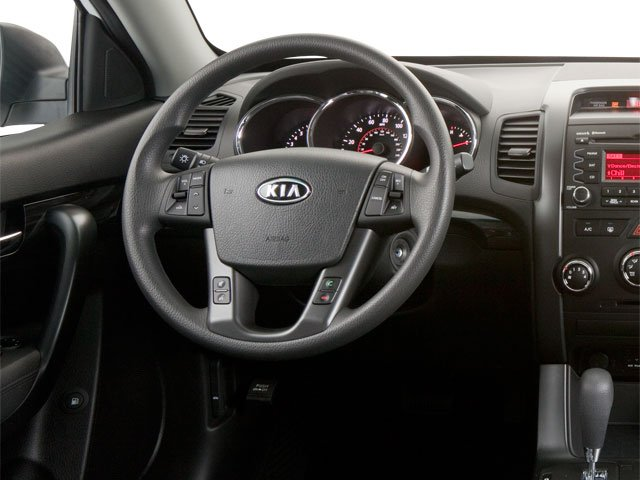 2011 Kia Sorento Prices and Values Utility 4D SX 2WD driver's dashboard