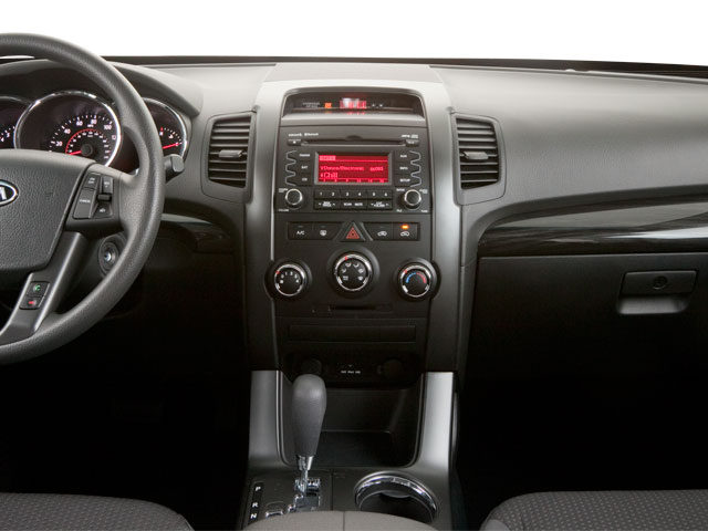 2011 Kia Sorento Prices and Values Utility 4D SX 2WD center dashboard