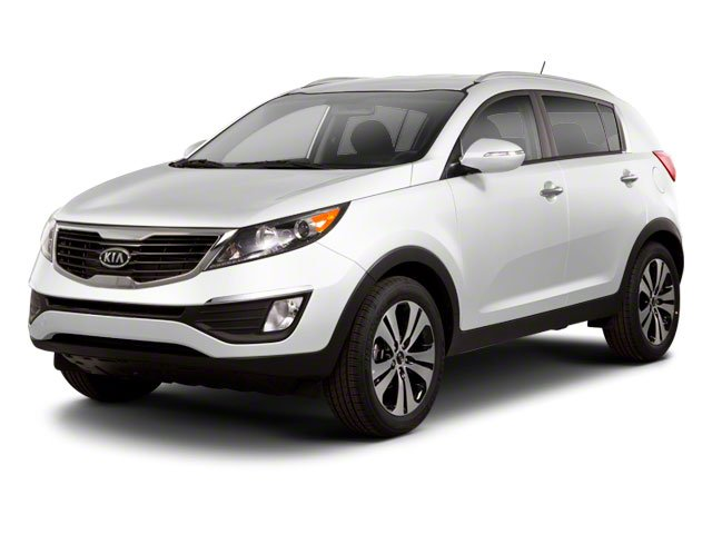 2011 Kia Sportage Prices and Values Utility 4D LX 2WD side front view