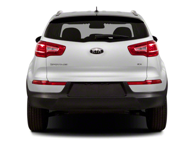 2011 Kia Sportage Prices and Values Utility 4D LX 2WD rear view