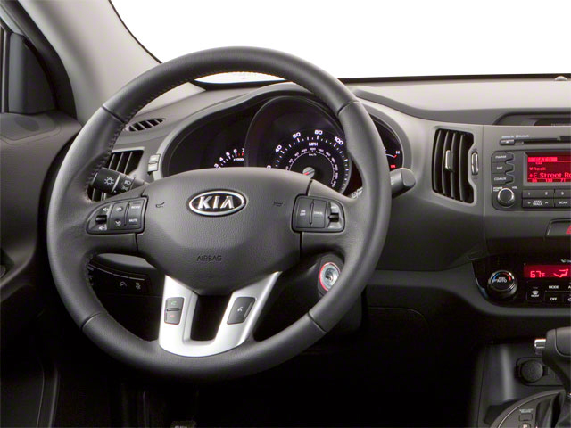 2011 Kia Sportage Prices and Values Utility 4D LX 2WD driver's dashboard
