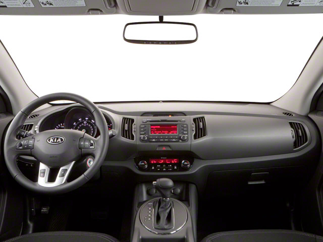 2011 Kia Sportage Prices and Values Utility 4D LX 2WD full dashboard