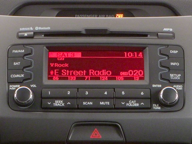 2011 Kia Sportage Prices and Values Utility 4D LX 2WD stereo system