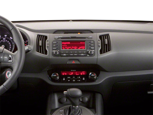 2011 Kia Sportage Prices and Values Utility 4D LX 2WD center dashboard