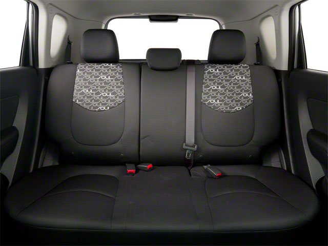 2011 Kia Soul Prices and Values Wagon 4D backseat interior
