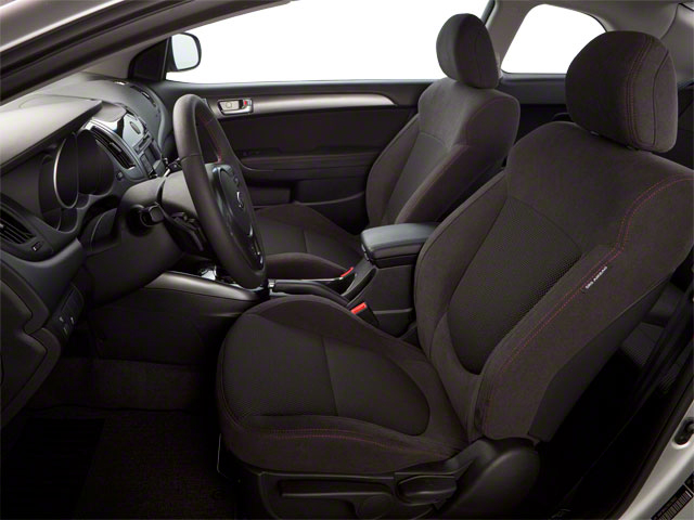 2011 Kia Forte Koup Prices and Values Coupe 2D SX front seat interior