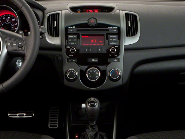 2011 Kia Forte Koup Prices and Values Coupe 2D SX center console